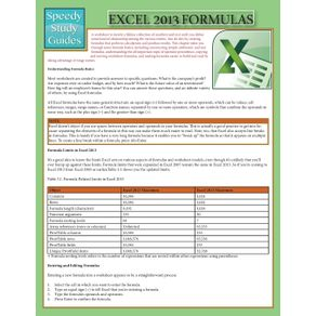 Excel-2013-Formulas--Speedy-Study-Guide-