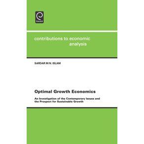 Optimal-Growth-Economics