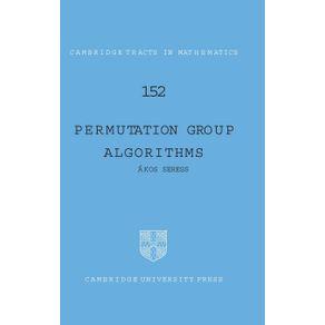 Permutation-Group-Algorithms