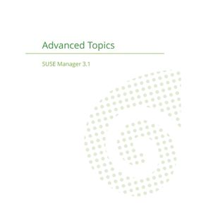 SUSE-Manager-3.1