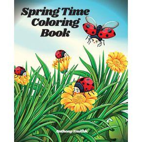 Springtime-Coloring-Book