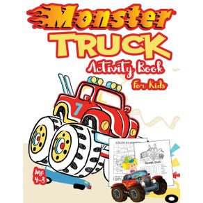 Monster-Truck-Activity-Book-for-Kids-Ages-4-8