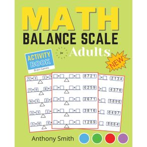 NEW---Math-Balance-Scale-Activity-Book-For-Adults--amp--Kids