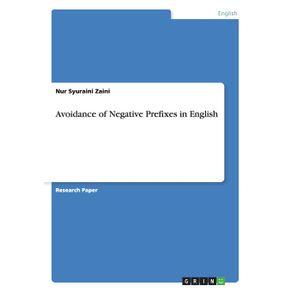 Avoidance-of-Negative-Prefixes-in-English