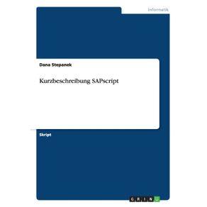 Kurzbeschreibung-SAPscript