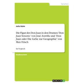 Die-Figur-des-Don-Juan-in-den-Dramen-Don-Juan-Tenorio-von-Jose-Zorrilla-und-Don-Juan-oder-Die-Liebe-zur-Geographie-von-Max-Frisch