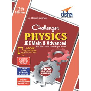 Challenger-Physics-for-JEE-Main---Advanced-with-past-5-years-Solved-Papers-ebook--12th-edition-