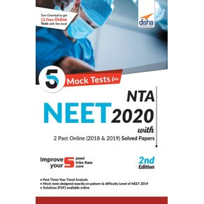 5-Mock-Tests-for-NTA-NEET-2020-with-2018---2019-Question-Papers---2nd-Edition