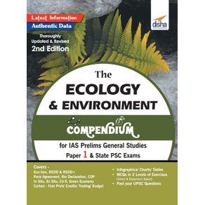 The-Ecology---Environment-Compendium-for-IAS-Prelims-General-Studies-Paper-1---State-PSC-Exams-2nd-Edition