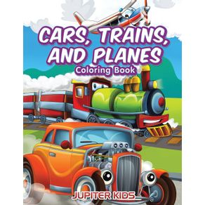 Cars-Trains-and-Planes-Coloring-Book