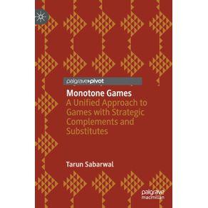 Monotone-Games