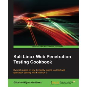 Kali-Linux-Web-Penetration-Testing-Cookbook