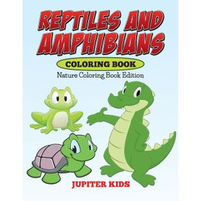 Reptiles-And-Amphibians-Coloring-Book