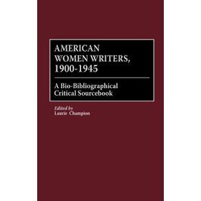 American-Women-Writers-1900-1945