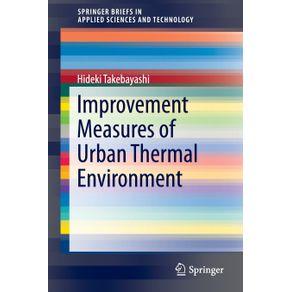 Improvement-Measures-of-Urban-Thermal-Environment